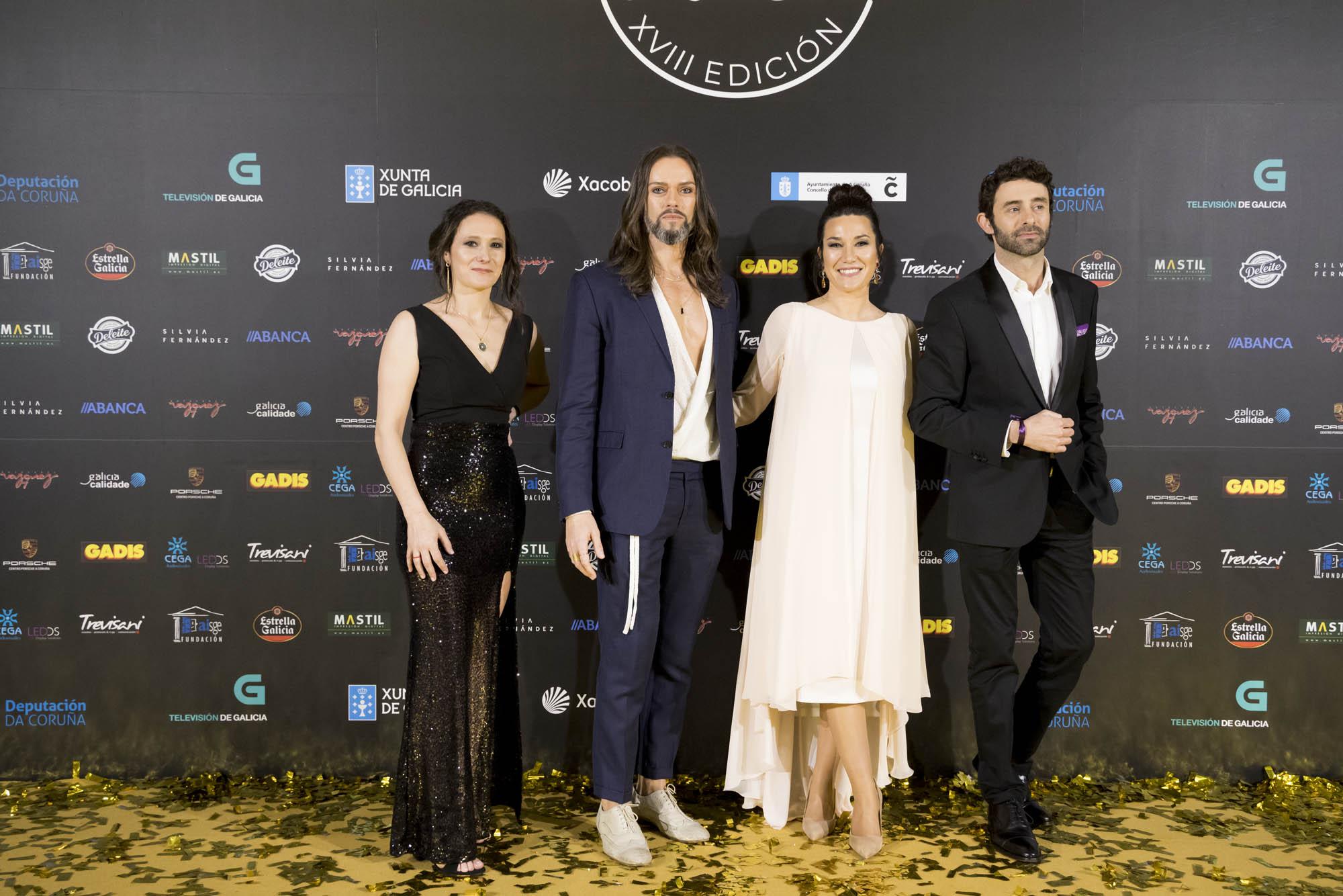 Javier Quintela Atelier en los Premios Mestre Mateo 2020. Alta Costura gallega