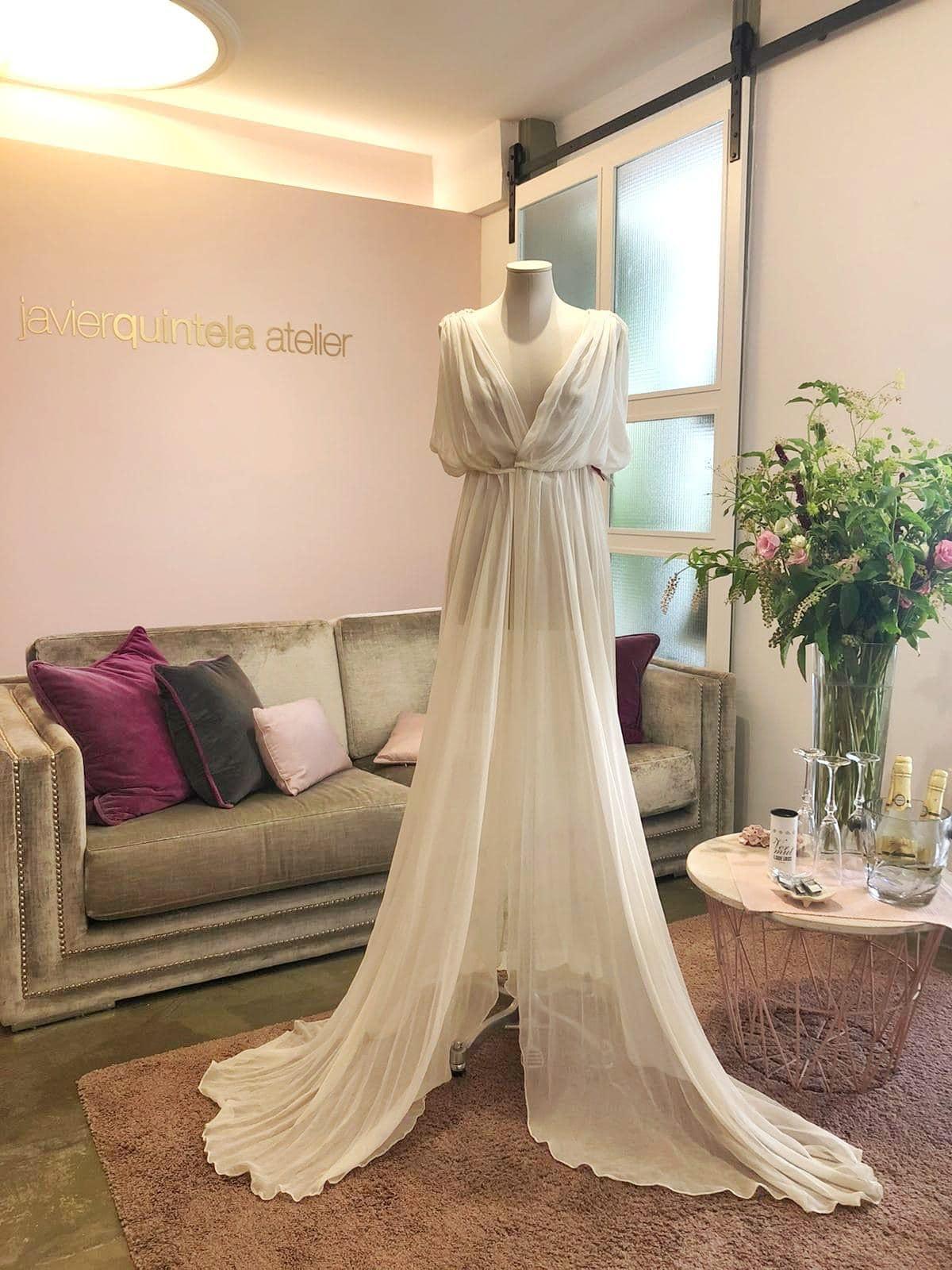 vestido novia precios especiales outlet Javier Quintela